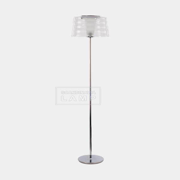 Aqua Cil Terra Floor Lamp(Clear Glass)-Small