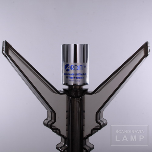 10 year warranty,made in Italy,the lamp holder of Clear black Kartell bourgie table lamp