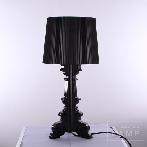 Black Kartell bourgie table lamp