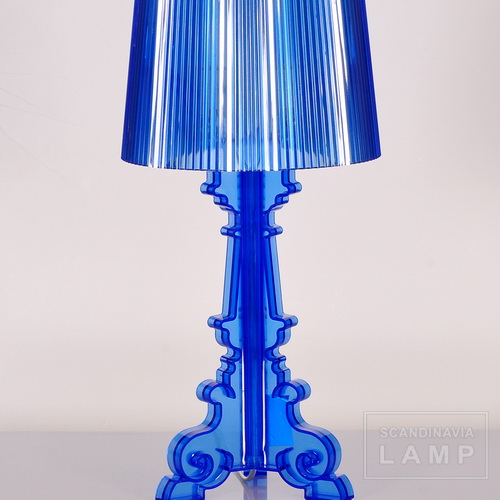 Blue Kartell bourgie table lamp