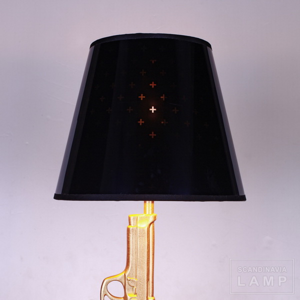 Philippe starck guns bedside antique scandinavia lamp manufacturer of modern comtemporary for Philippe starck ak table lamp