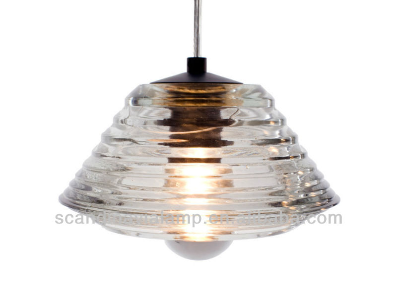 The Tom Dixon Pressed Glass Light Series-3