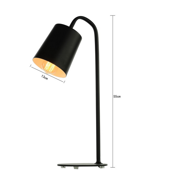 New Modern Barrel Table Lamp