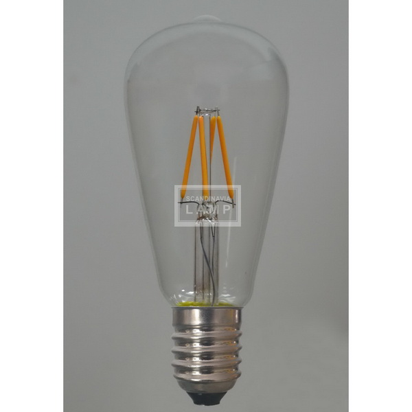 ST64 2W 4W Voltage Vintage Edison Led Bulb