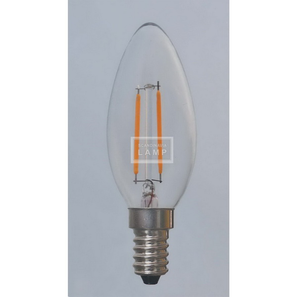 C35 2W 4W Voltage Vintage Edison Led Bulb