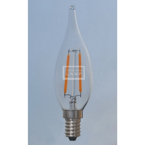C32 VINTAGE EDISON LED BULB WITH LED FILAMENT DESIGN