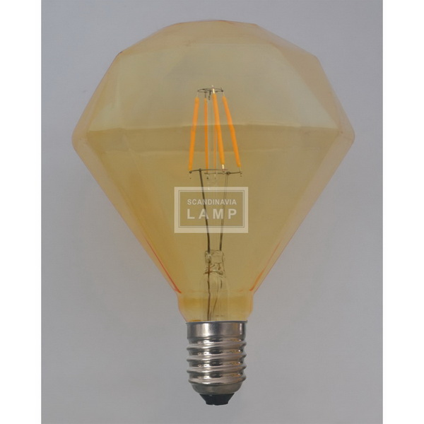 Pan Dimond Led Bulb|Antique Vintage Edison bulb Carbon decorative filament light bulb