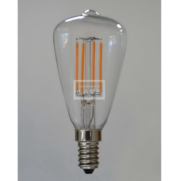 ST48 filament edison bulb led light