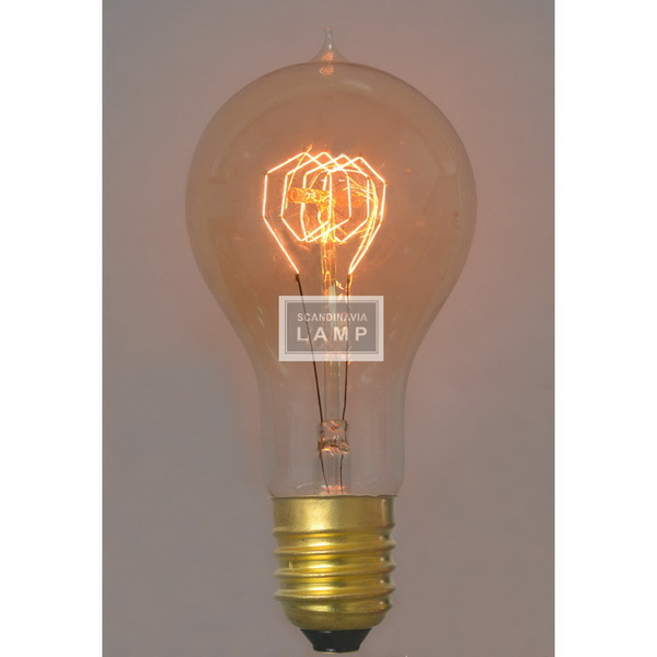 Vintage edison bulb|Filament lamp A100|American industrial lighting
