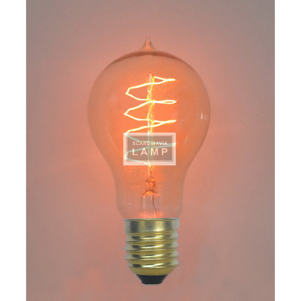 Vintage edison bulb,Filament Bulb A1924,American industrial lighting