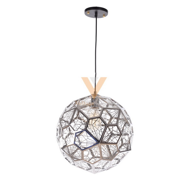 The modern Etch Web Pendant Light