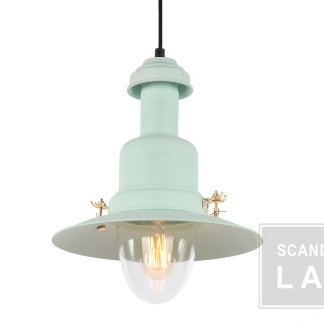 light green supermarket industrial fish lamp