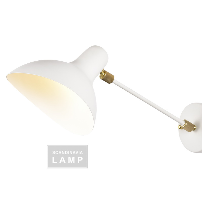 New Serge Mouille Wall Lamp
