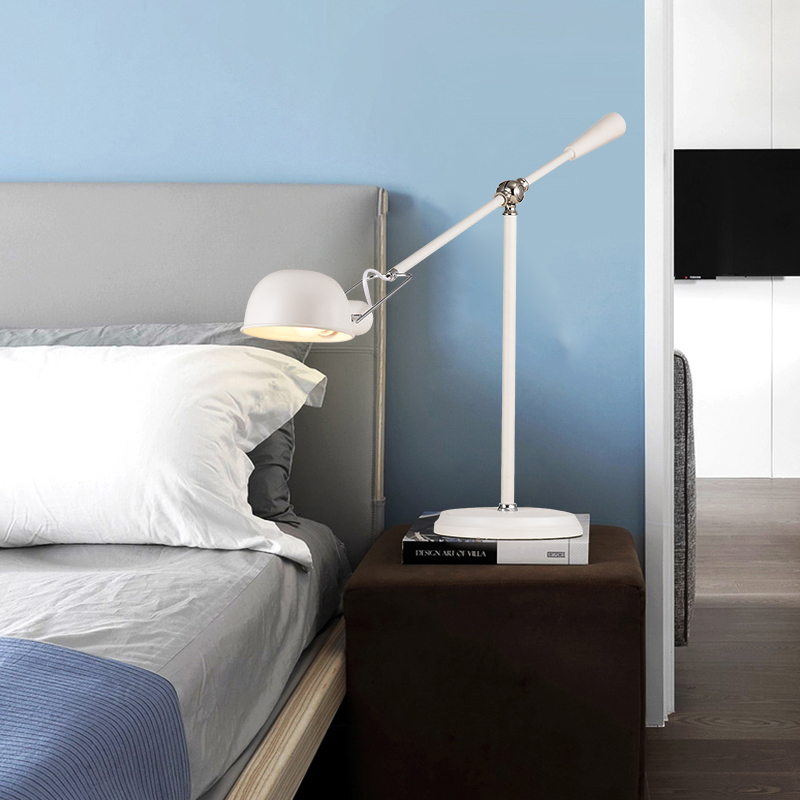 Flos table lamp in bedroom