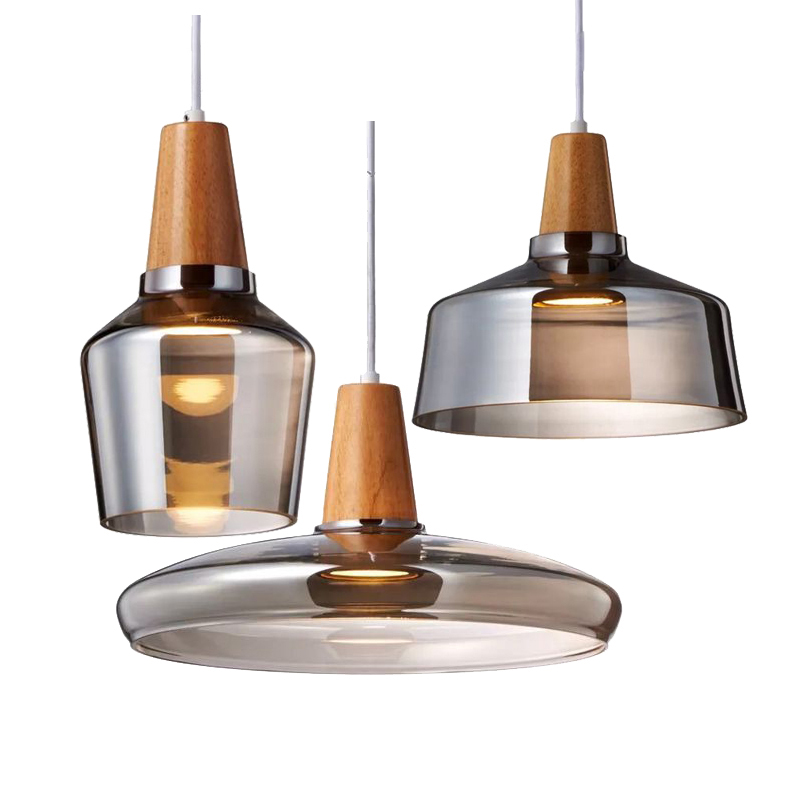Nordic chandelier glass pendant lamp